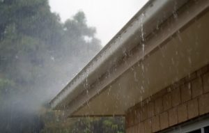 clean rain gutters, damage, home