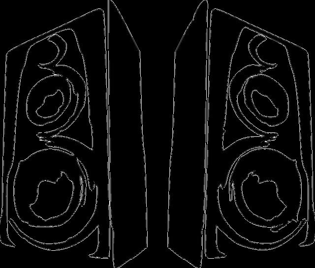 silhouette of speakers
