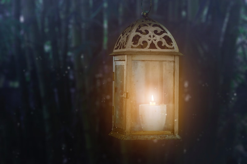 antique beautiful lantern
