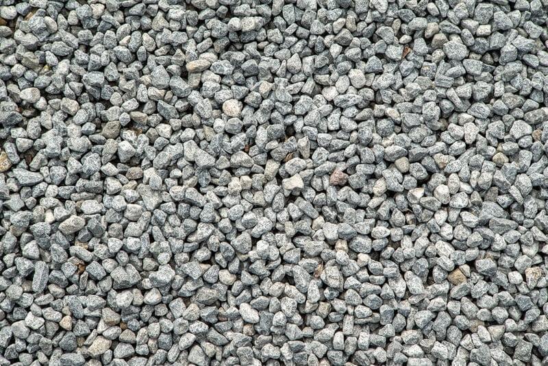 dry gravel