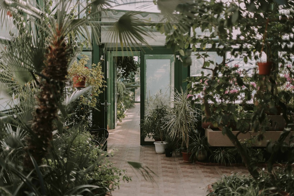 Door on the garden